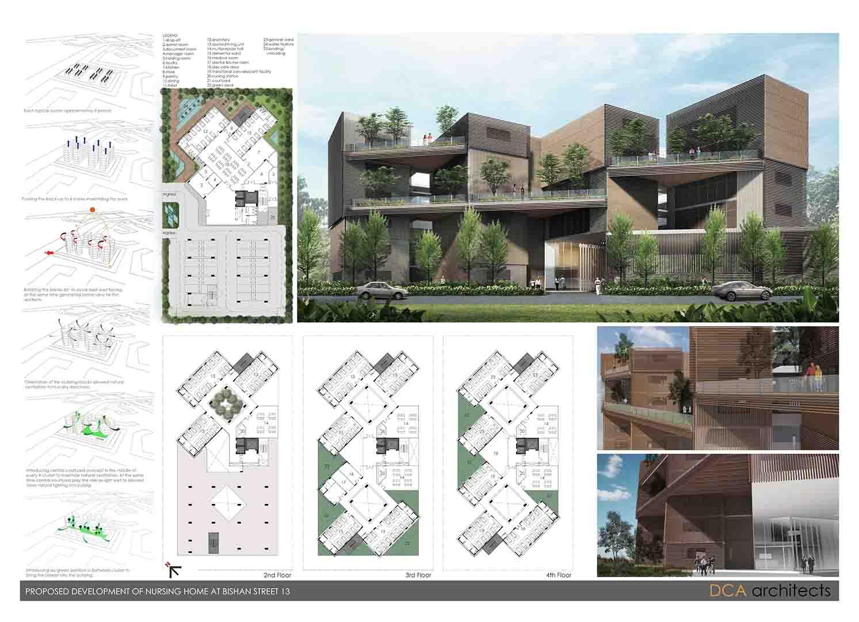 Proposed Design for Bishan Nursing Home   DCA Architects
