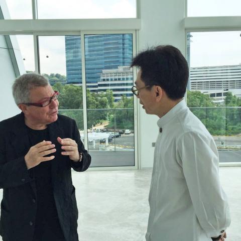 DCA Vincent Koo Daniel Libeskind